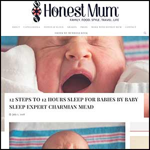 12 Steps to 12 Hours Sleep For Babies By Baby Sleep Expert Charmian Mead