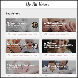 Up All Hours with Charmian Mead (The Baby Sleep Expert)